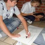 Schüler malen