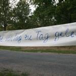 Schriftband Straße
