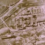Luftbild Hochstrasse 1945