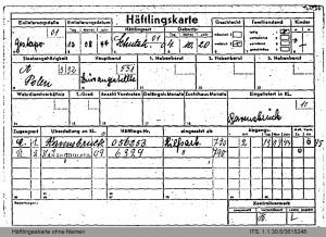 Burtzywska_Haeftlingskarte